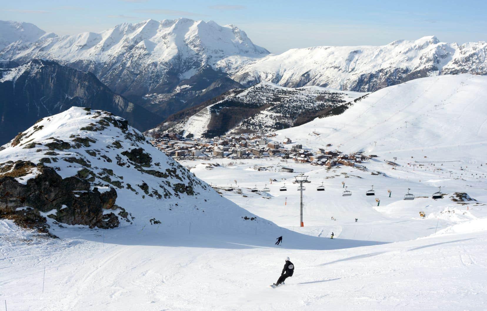 Skier sur le toit de l'Europe