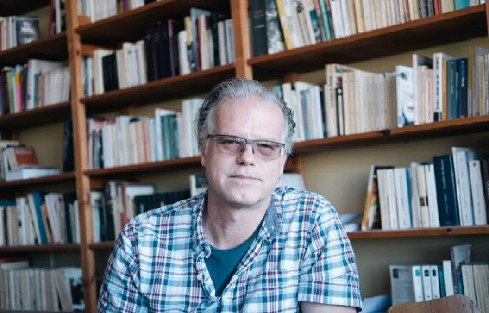 Patrick Doucet, auteur et professeur de psychologie au cégep Marie-Victorin
