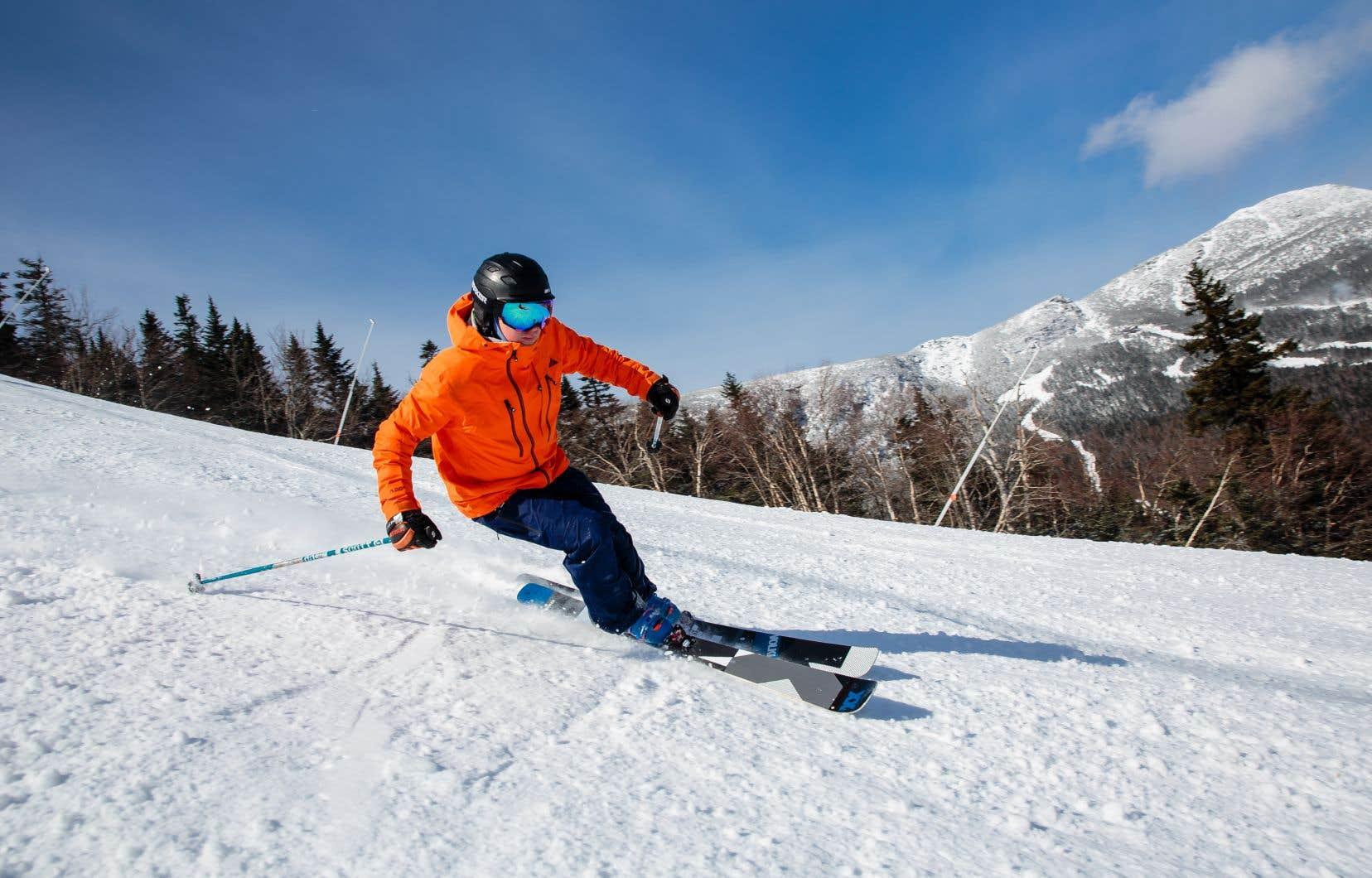 Il y a des pentes pour tous  les calibres de skieurs  à Stowe.