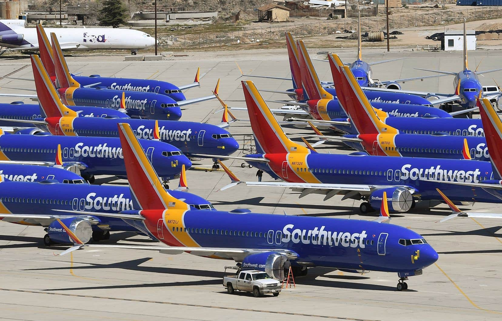 <p>Southwest est le plus gros client du Boeing 737 MAX, avec 34 appareils.</p>