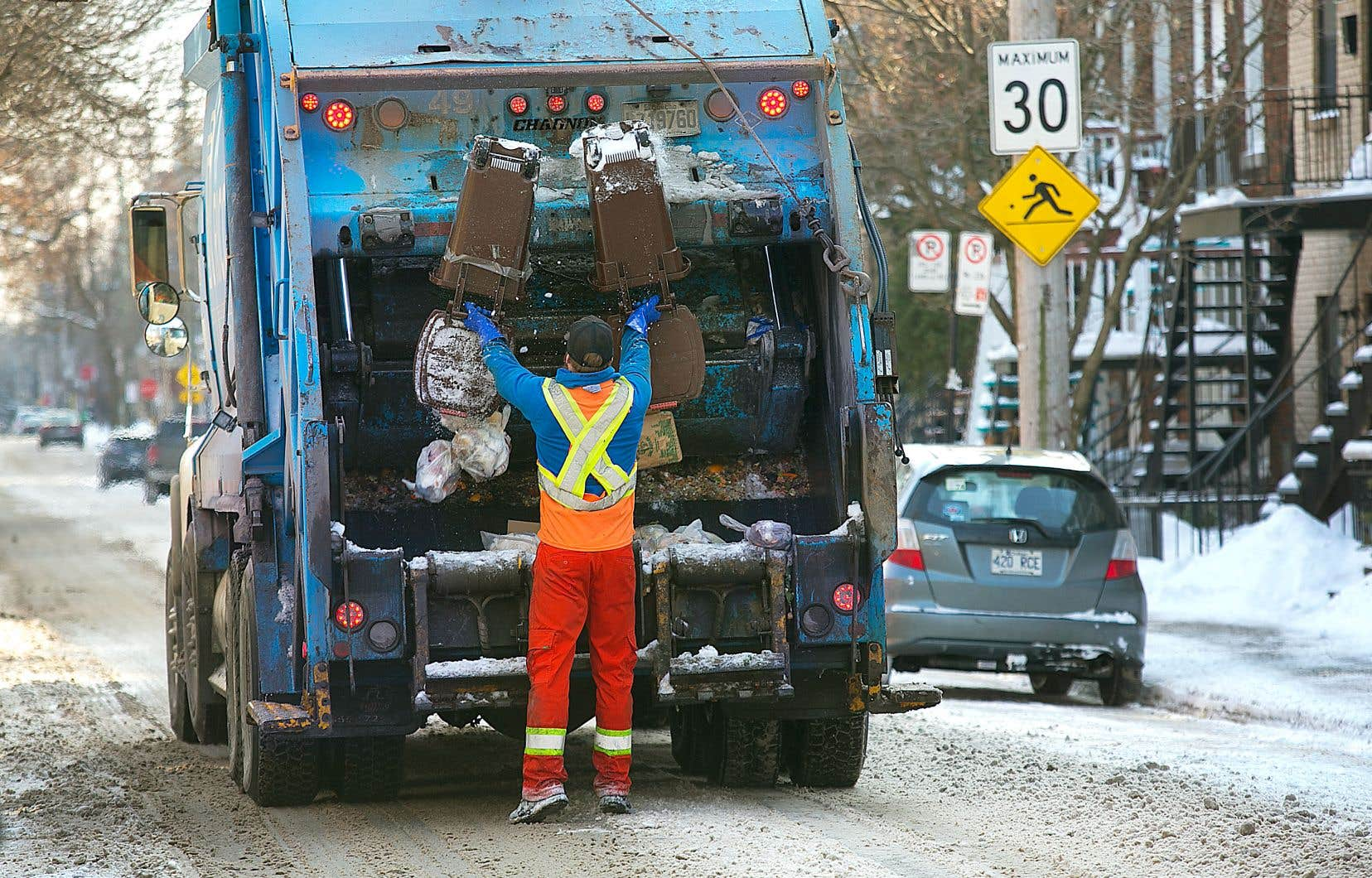 Le Québec est très loin d'atteindre les objectifs qu'il s'était fixés en matière de recyclage des matières organiques résiduelles.