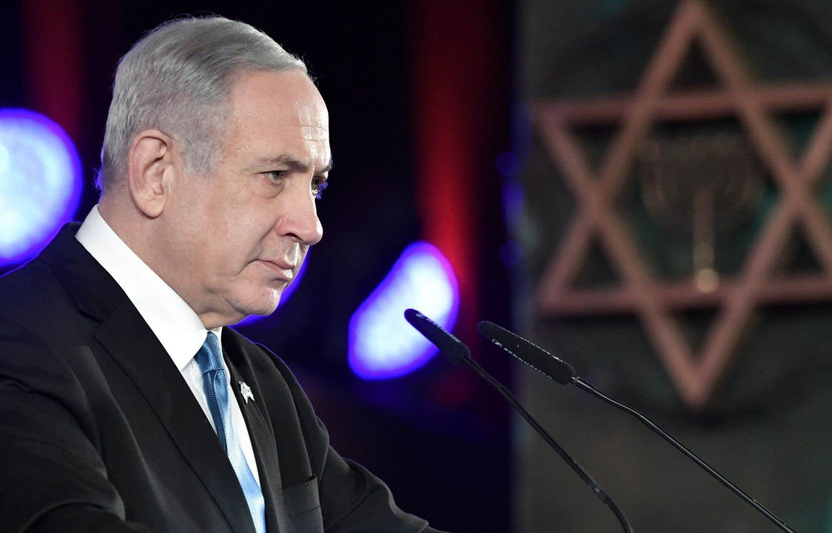 «Une opportunité de la sorte n'arrive qu'une seule fois dans l'histoire et nous ne pouvons pas la rater […] J'ai bon espoir que nous sommes au seuil d'un moment historique pour notre État», a déclaré M.Netanyahu.