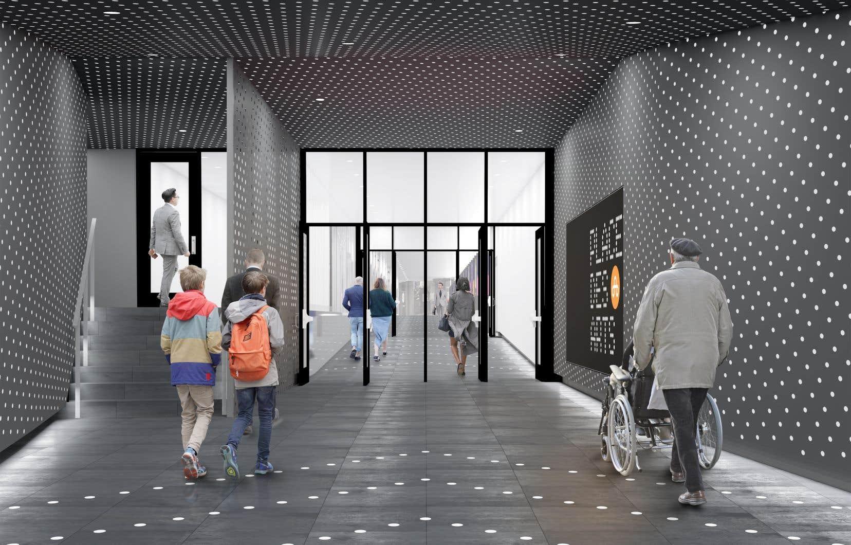 Québec verse 4 M$ pour rendre accessible un corridor de la Place des Arts