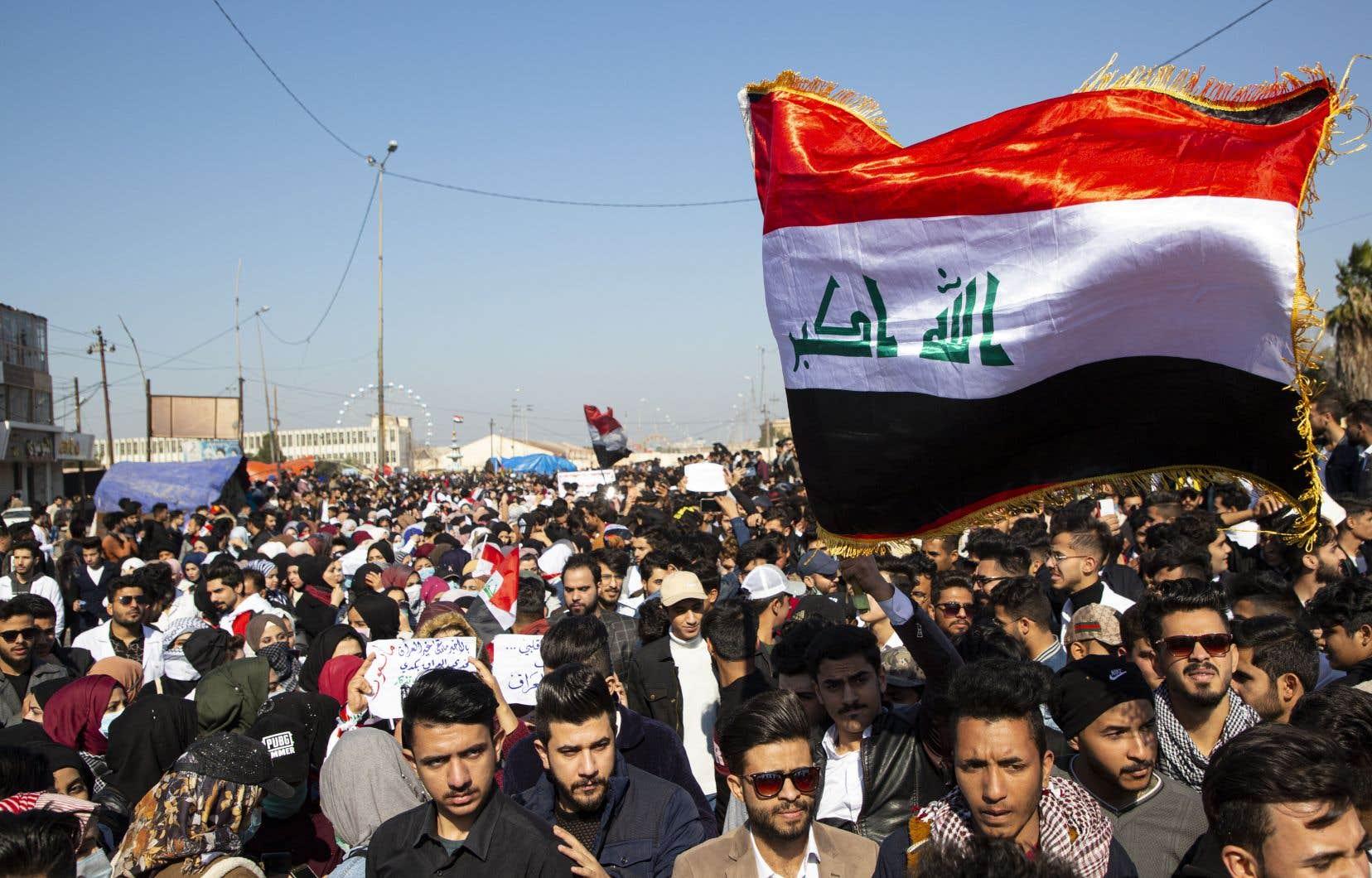 Trois roquettes s'abattent sur l'ambassade américaine en Irak