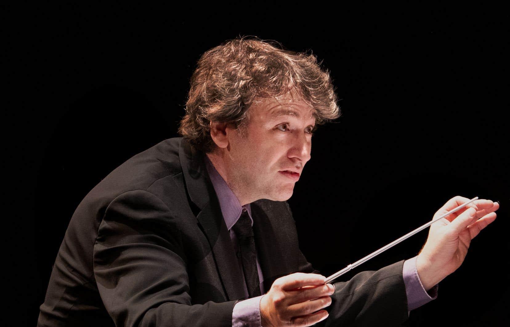 Alain Trudel, directeur musical de l'Orchestre symphonique de Laval