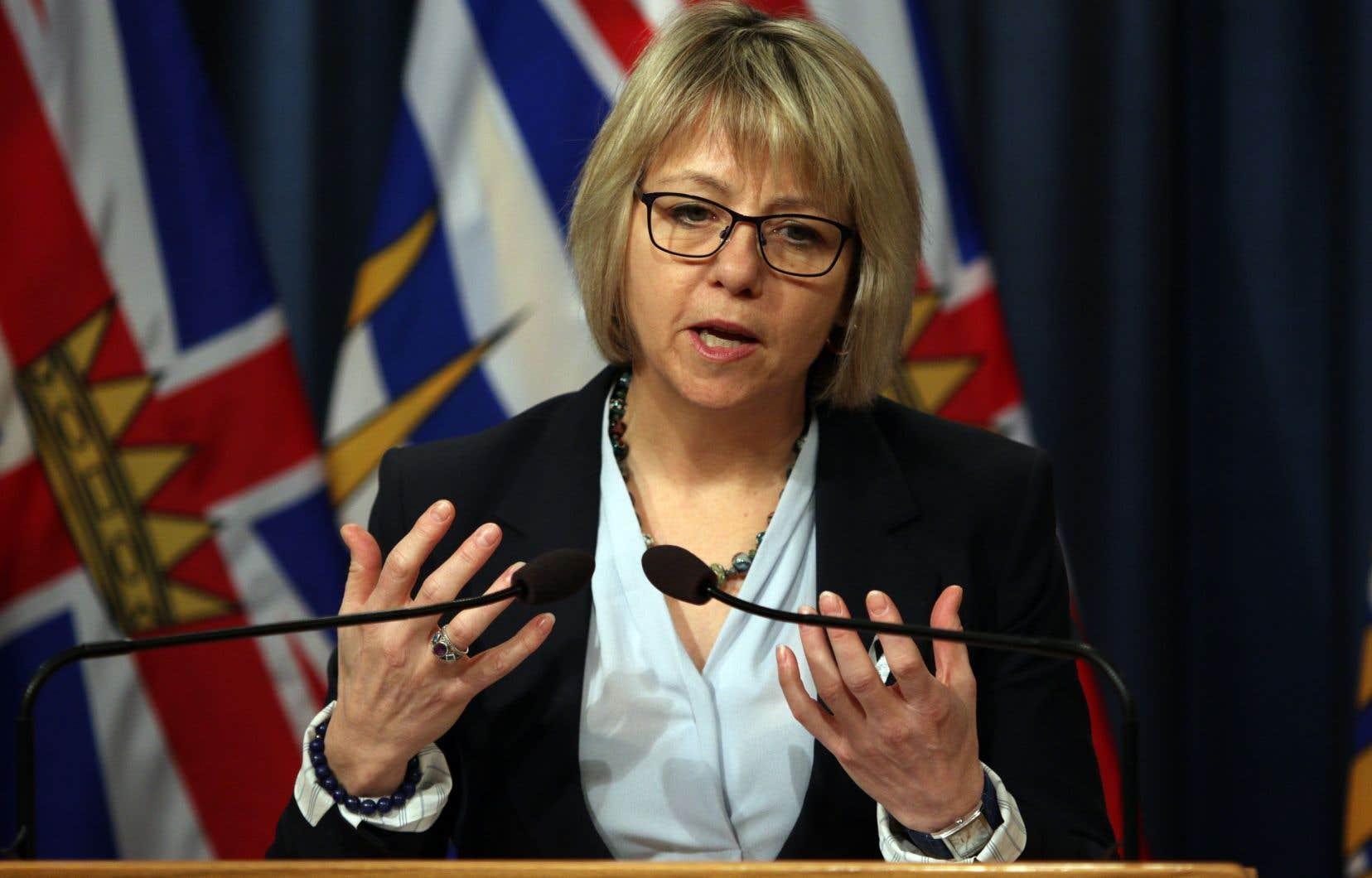 La docteure Bonnie Henry, directrice de la santé publique en Colombie-Britannique