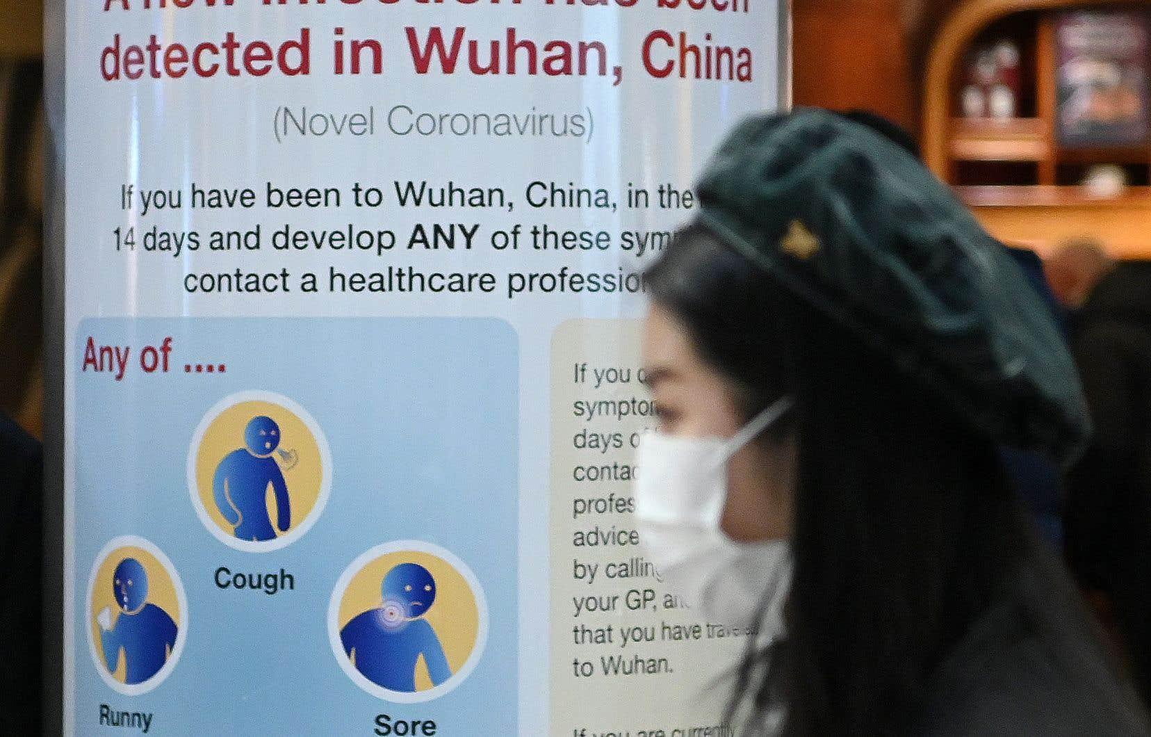 Des avertissements sont maintenant visibles dans certains aéroports internationaux.