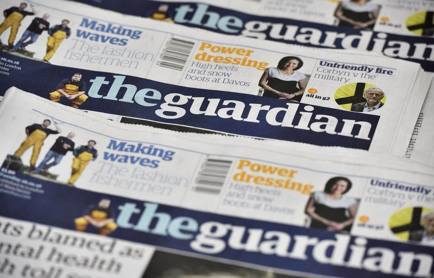 À l'automne, le «Guardian» a revu ses pratiques éditoriales, notamment en utilisant les termes «urgence climatique» plutôt que «changement climatique».