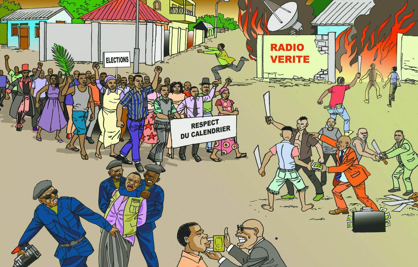 Pour encourager les Congolais à agir contre le régime qui les oppresse, l'organisme Développement et Paix a mis en place un projet d'éducation civique et électorale.