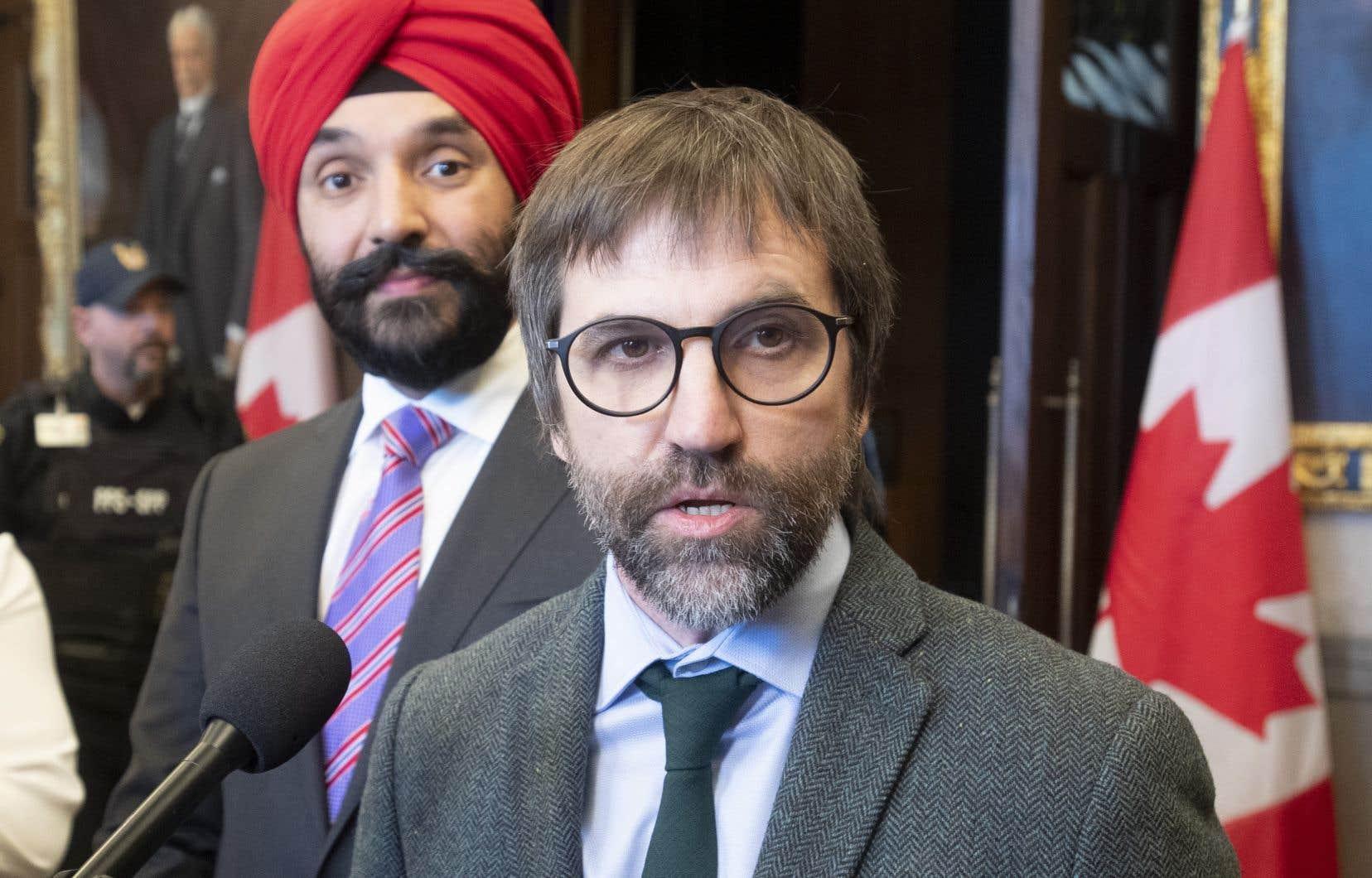 «Nous avons pris l'engagement de déposer un projet de loi sur cette question-là dans la première année de notre mandat», a rappelé mercredi le ministre du Patrimoine canadien, Steven Guilbeault.