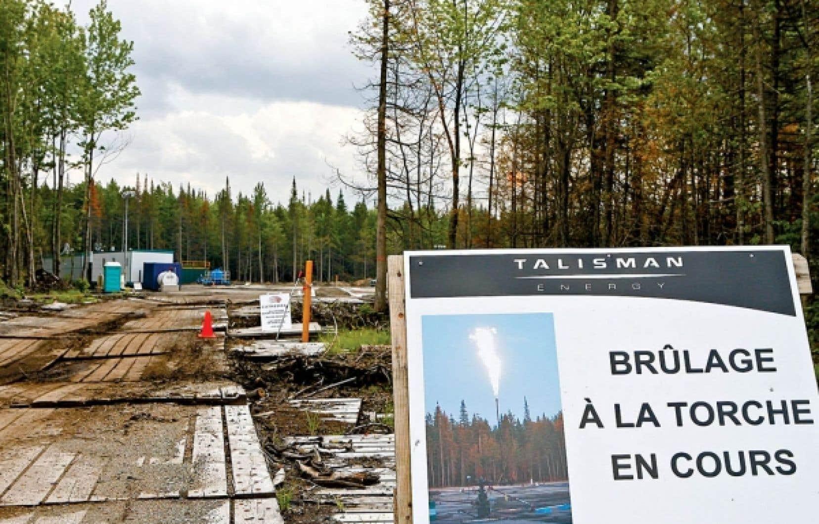 Québec s'attend plutôt à recevoir des recommandations sur la manière de développer les gaz de schiste.