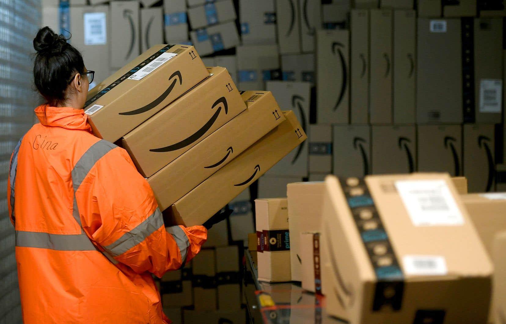 Durant la période des Fêtes 2019, Amazon est parvenue à quadrupler ses livraisons en un jour ou le jour même par rapport à l'année précédente.