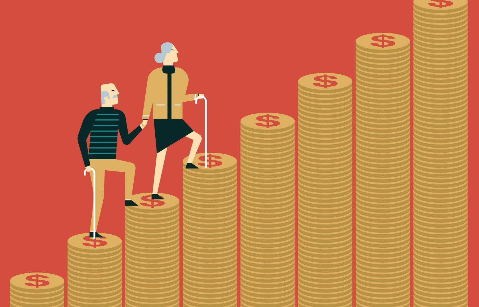L'utilisation du REER évolue en fonction de l'âge des épargnants.