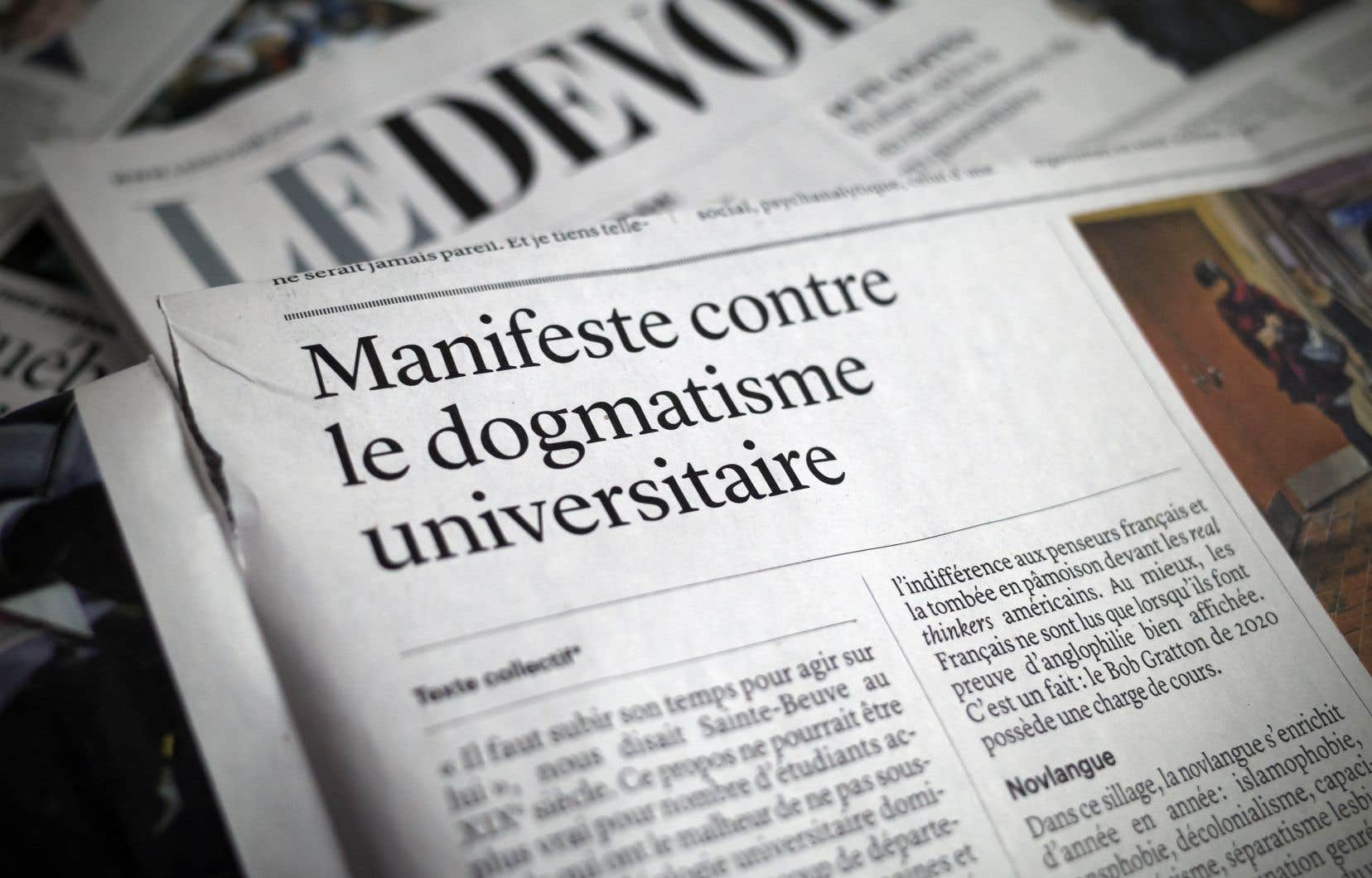«Les signataires du manifeste expriment leur opinion, une position forte», dit l'historien Martin Pâquet de l'Université Laval.