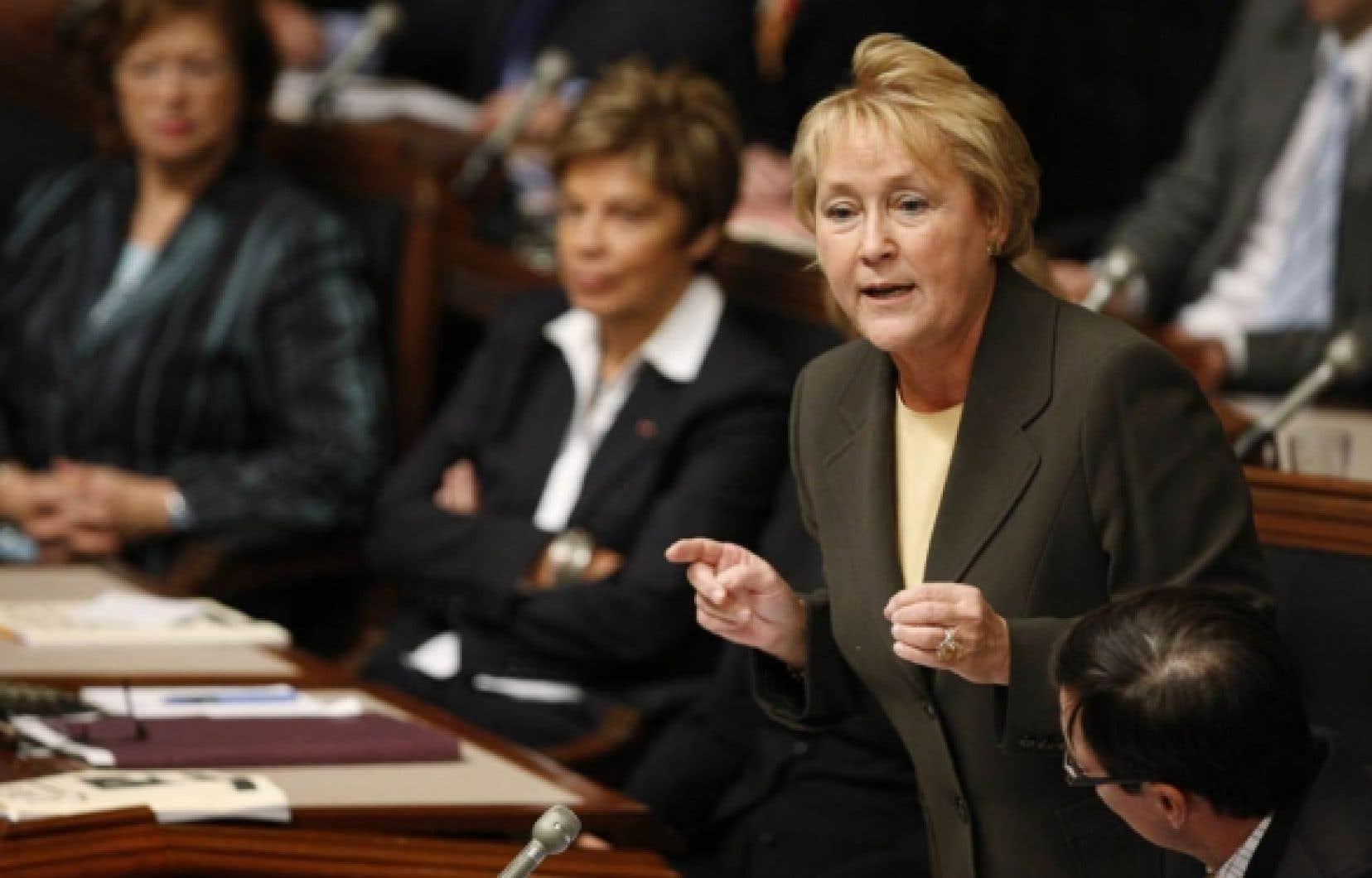 La motion de censure d&eacute;pos&eacute;e hier par Pauline Marois sera port&eacute;e aux voix mercredi.<br />