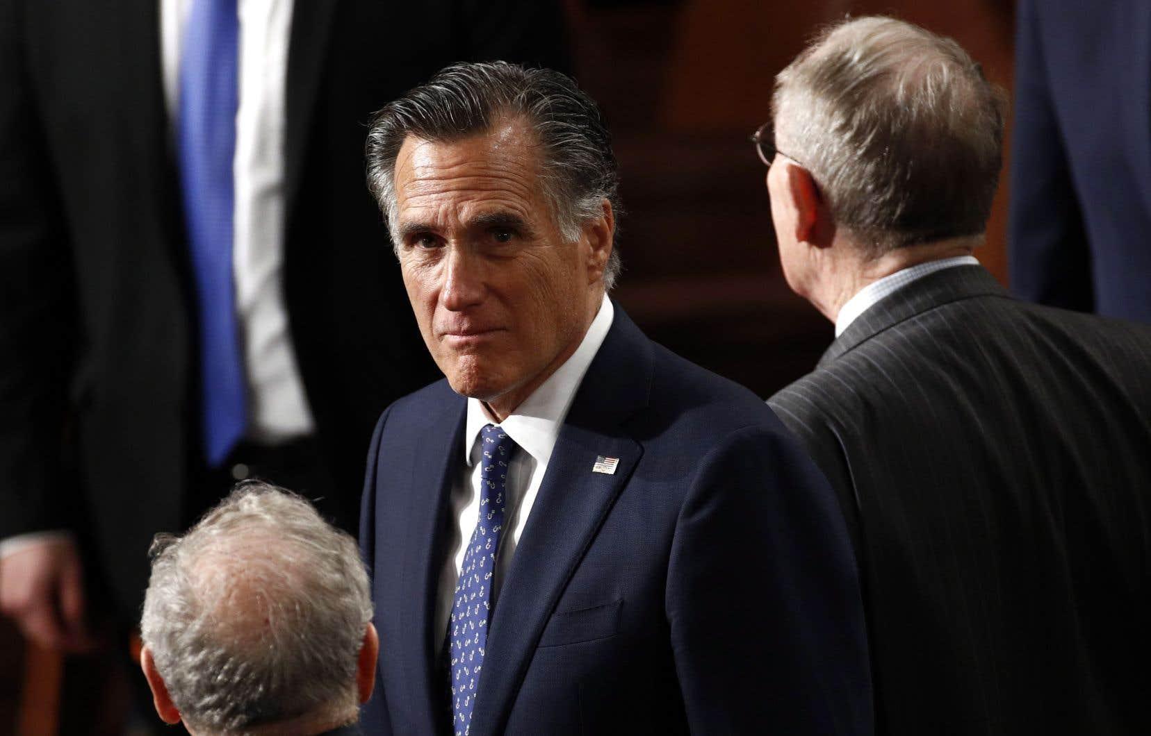 Le sénateur républicain Mitt Romney