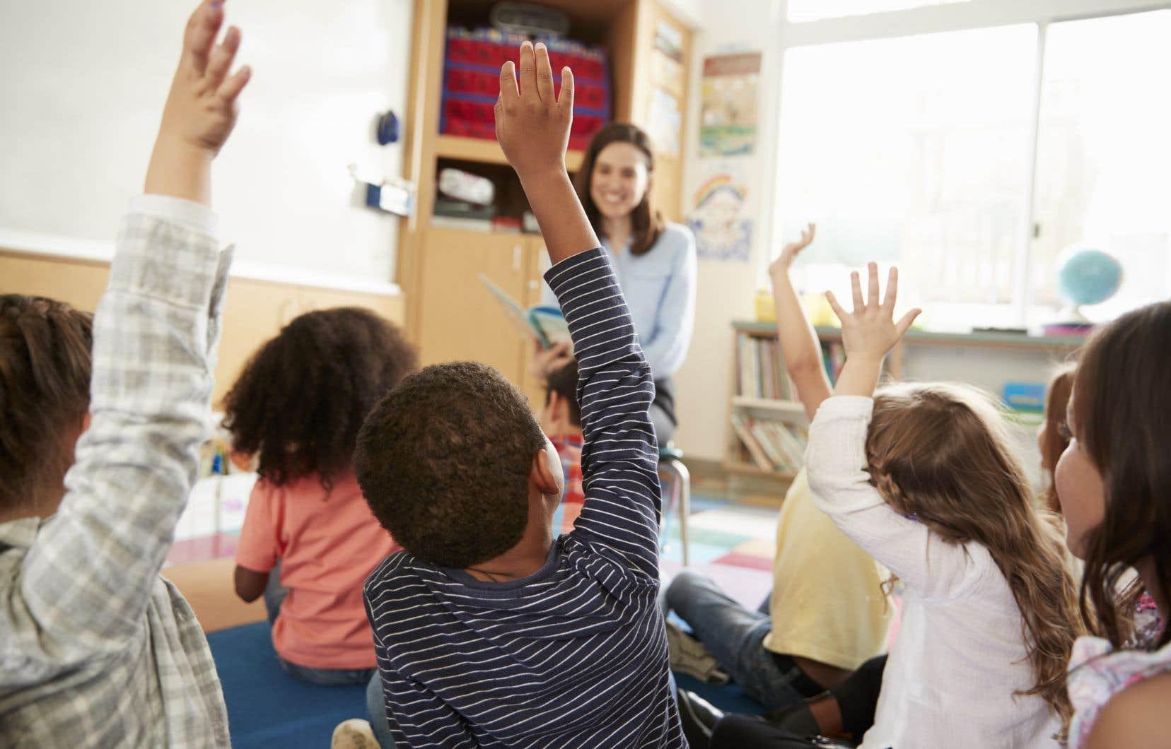 Entre 2011 et 2018, les écoles primaires du Québec ont accueilli 74 000 enfants de plus.