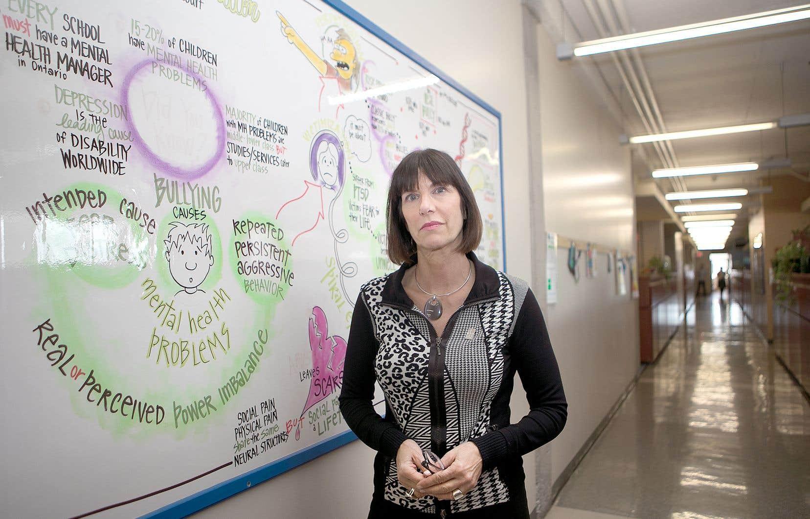 Marie-Ève Claude, directrice adjointe des Services aux élèves de la Commission scolaire Lester B. Pearson