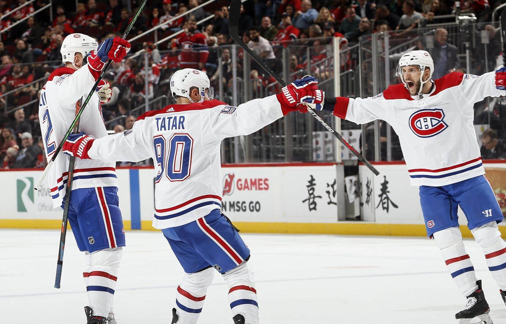 Mardi,le Canadien a vaincu les Devils du New Jersey 5-4 en fusillade.
