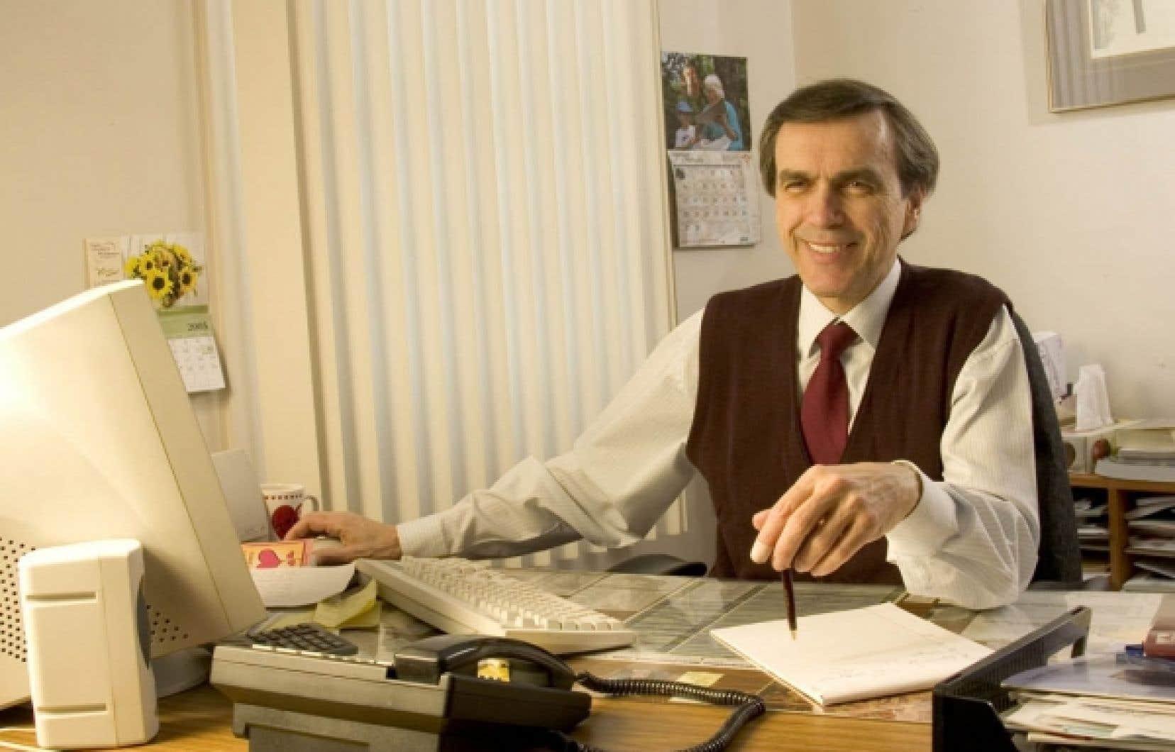 Jean-Guy Roy est le directeur g&eacute;n&eacute;ral de Radio Ville-Marie.<br />