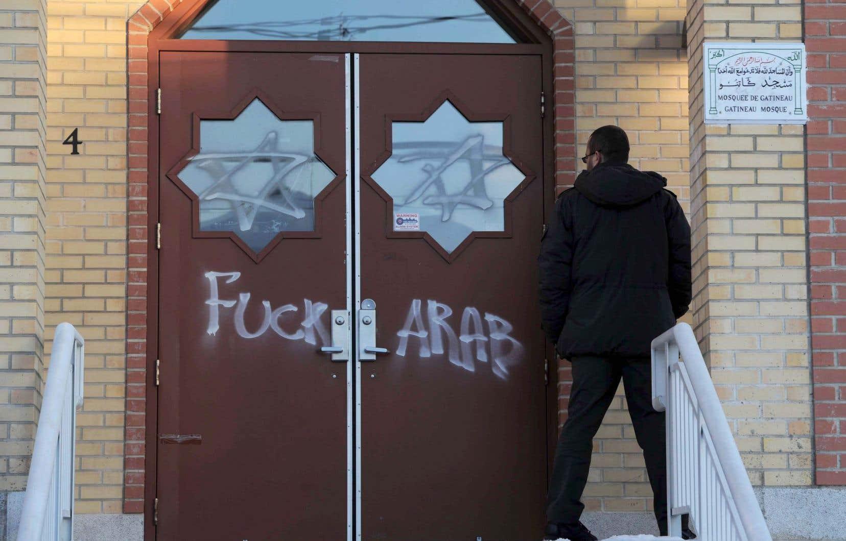 En 2012, le centre islamique de l'Outaouais à Gatineau avait été visé par des actes de vandalisme.