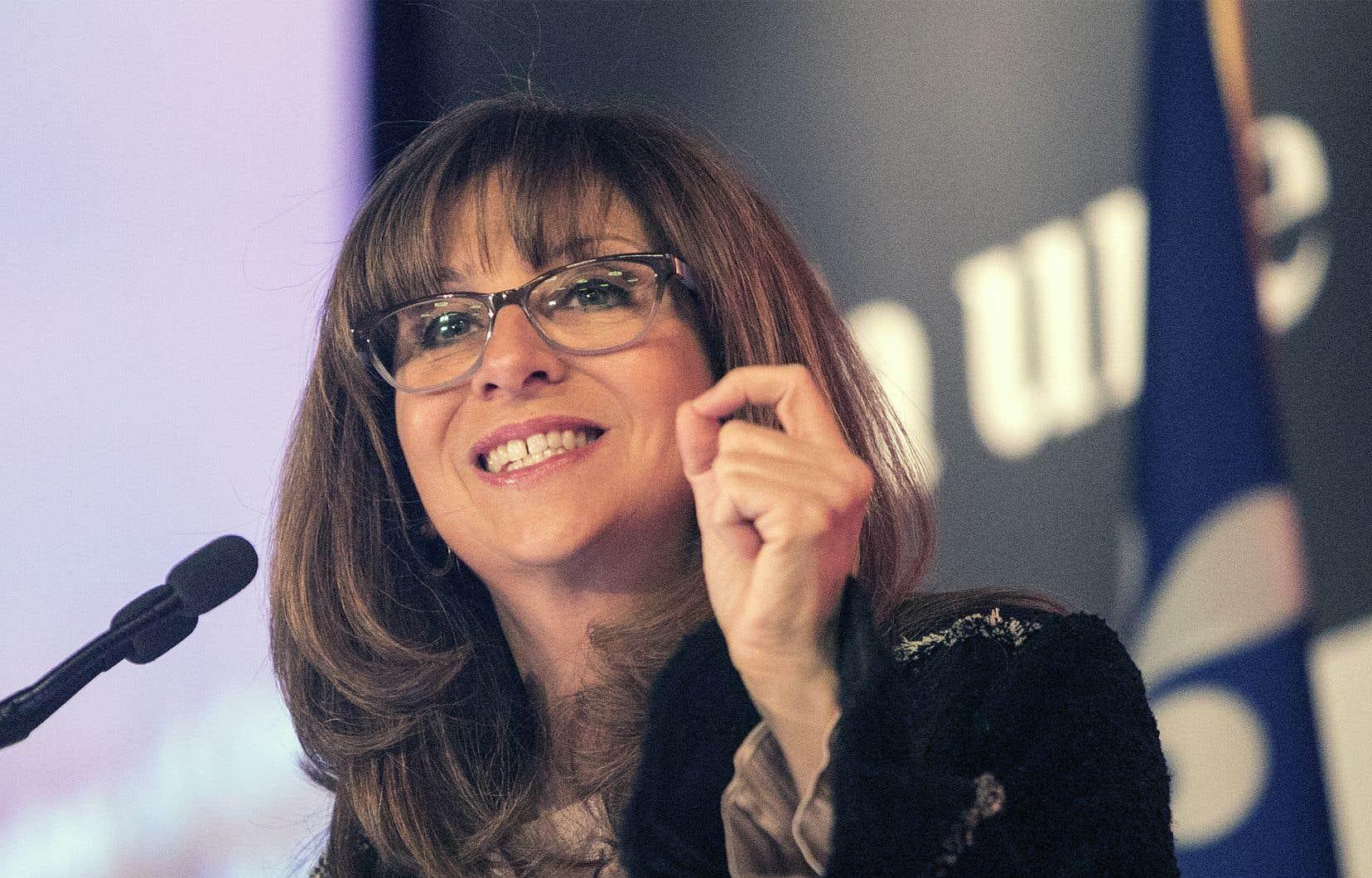 La ministre de la culture et des communications du Québec, Nathalie Roy