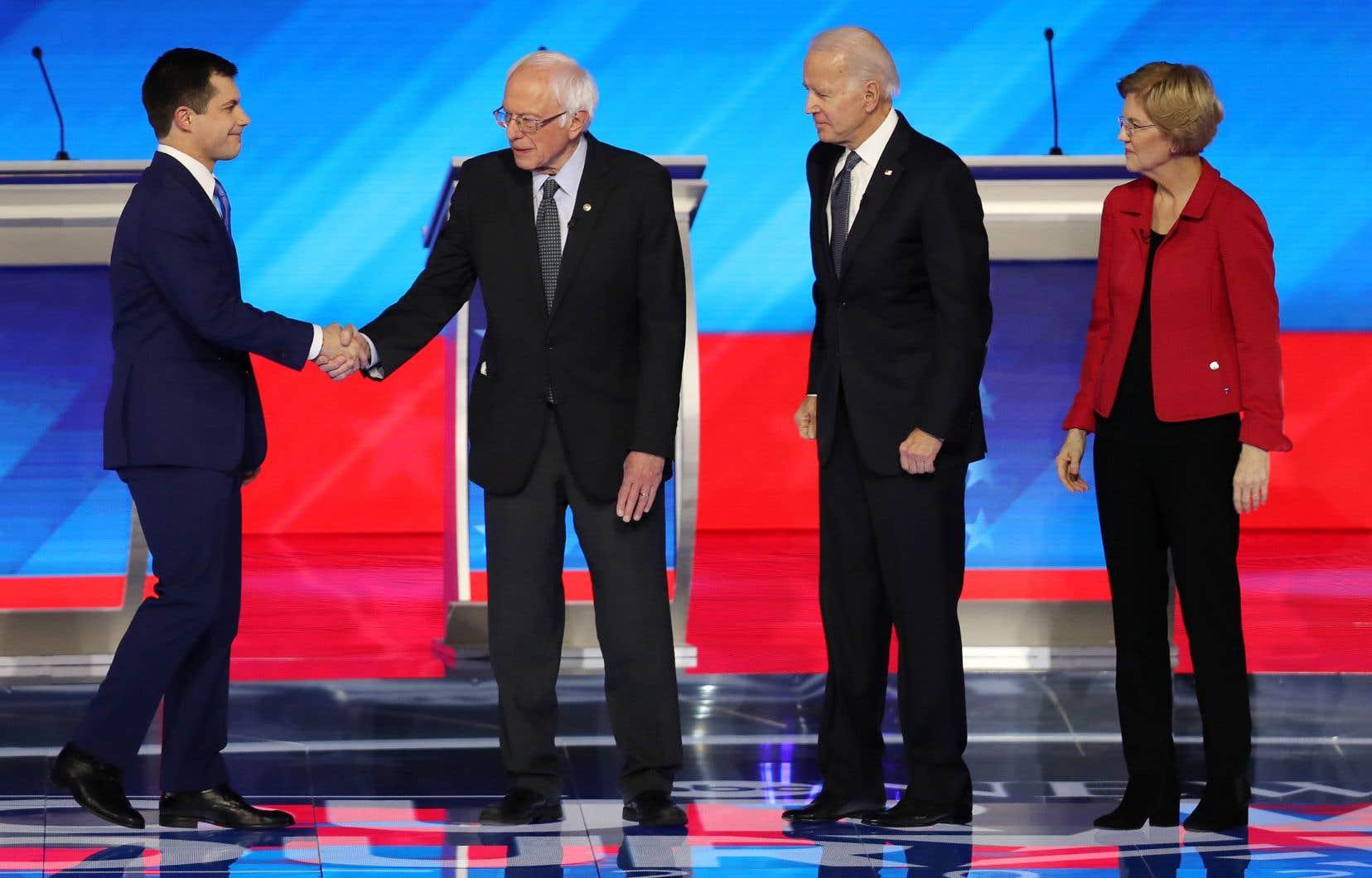 L'unité du parti pour priver Donald Trump d'un second mandat a été l'un des rares moments de consensus entre les candidats.