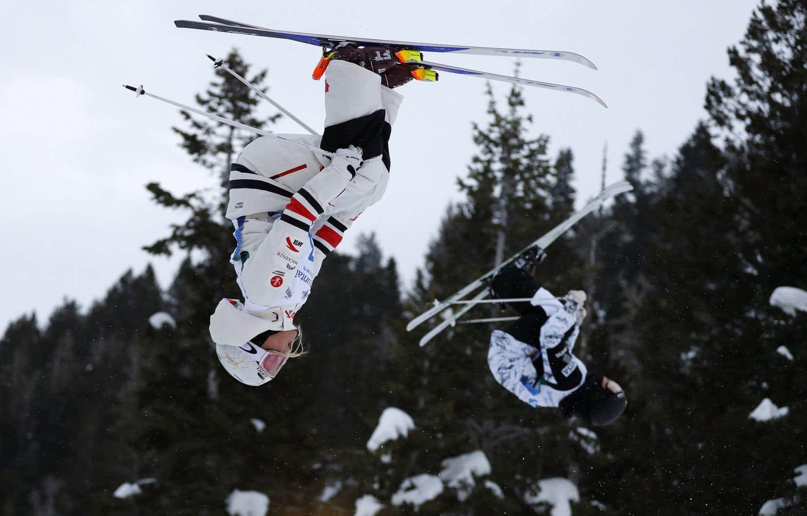 Il s'agissait d'une première victoire cette saison pour Justine Dufour-Lapointe, mais un troisième podium consécutif pour la skieuse de 25ans.