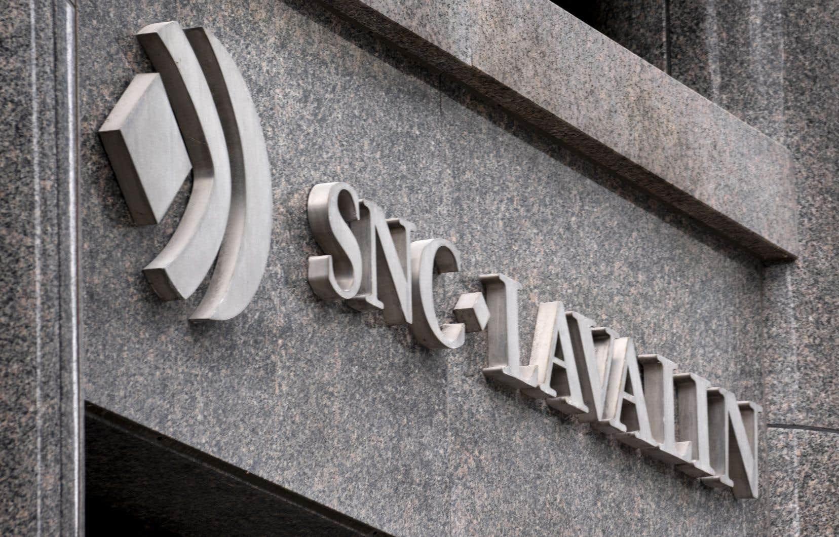 En décembre, SNC-Lavalin a écopé d'une amende de 280millions de dollars après avoir plaidé coupable à une accusation de fraude pour des gestes commis en Libye entre 2001 et 2011.
