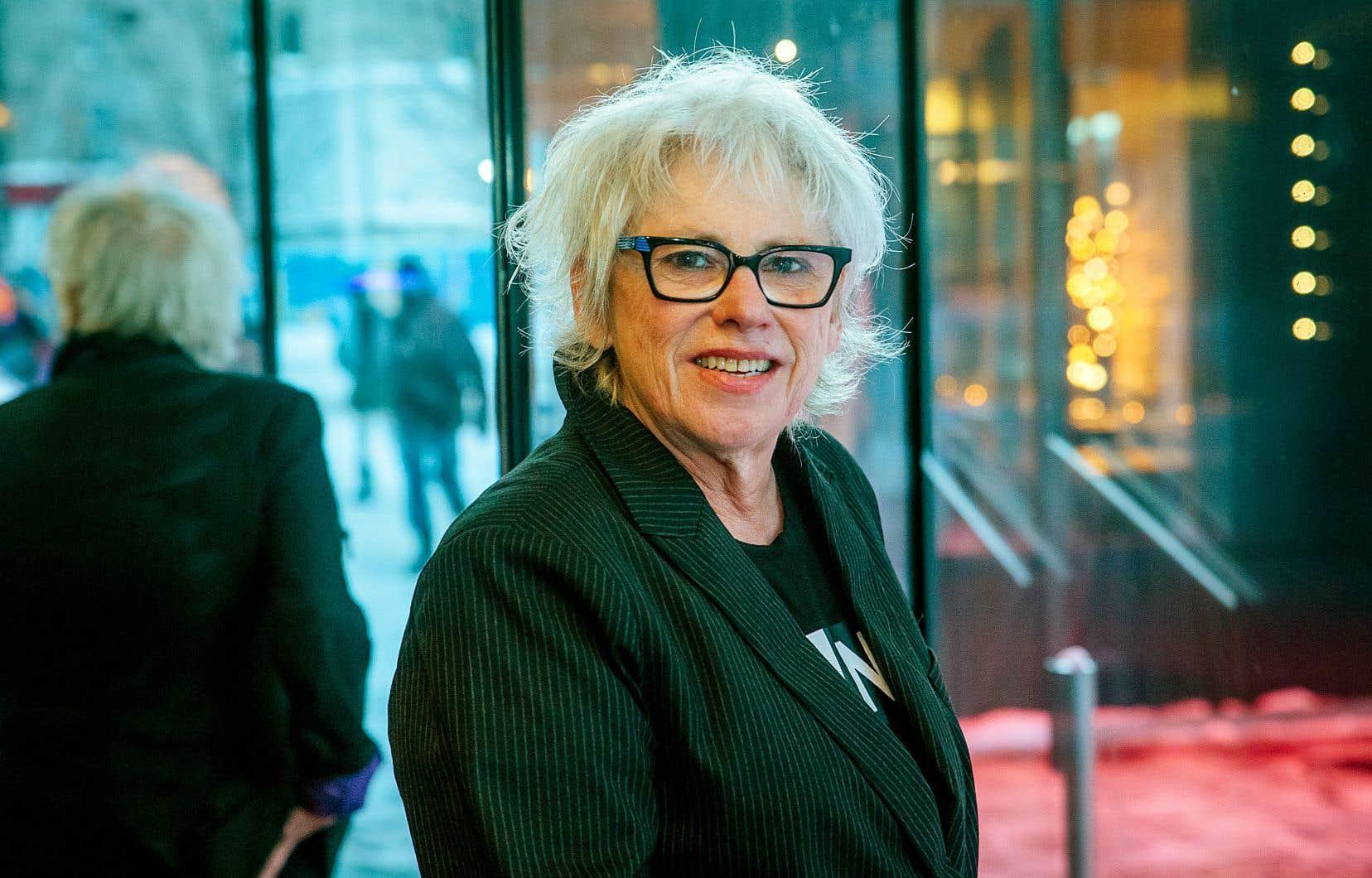 Danièle Lévesque a reçu son prix au TNM, où elle a beaucoup travaillé.