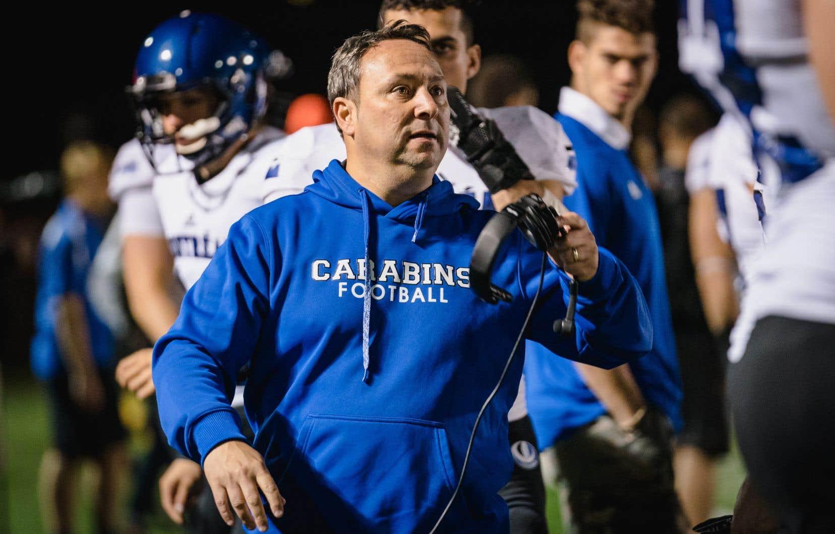 Marco Iadeluca a été nommé entraîneur-chef des Carabins de l'Université de Montréal.