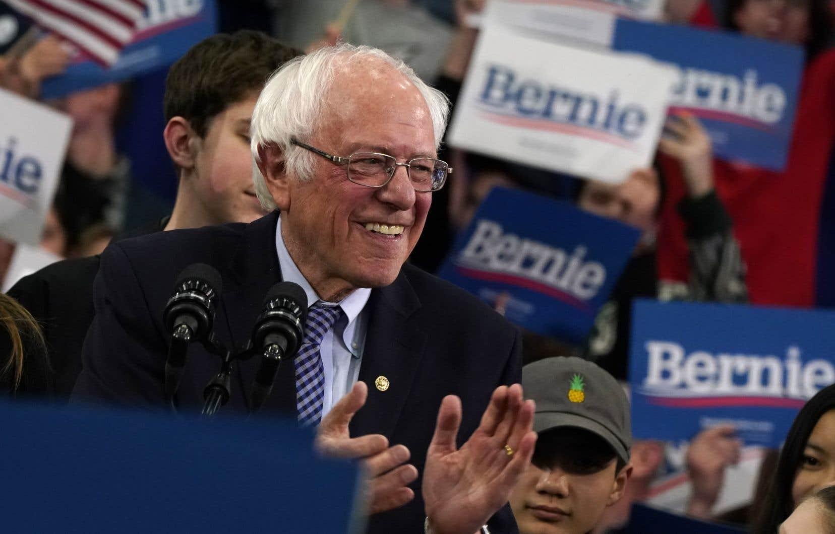 Bernie Sandersa remporté, avec une très mince majorité,la primaire du New Hampshire, mardi soir.