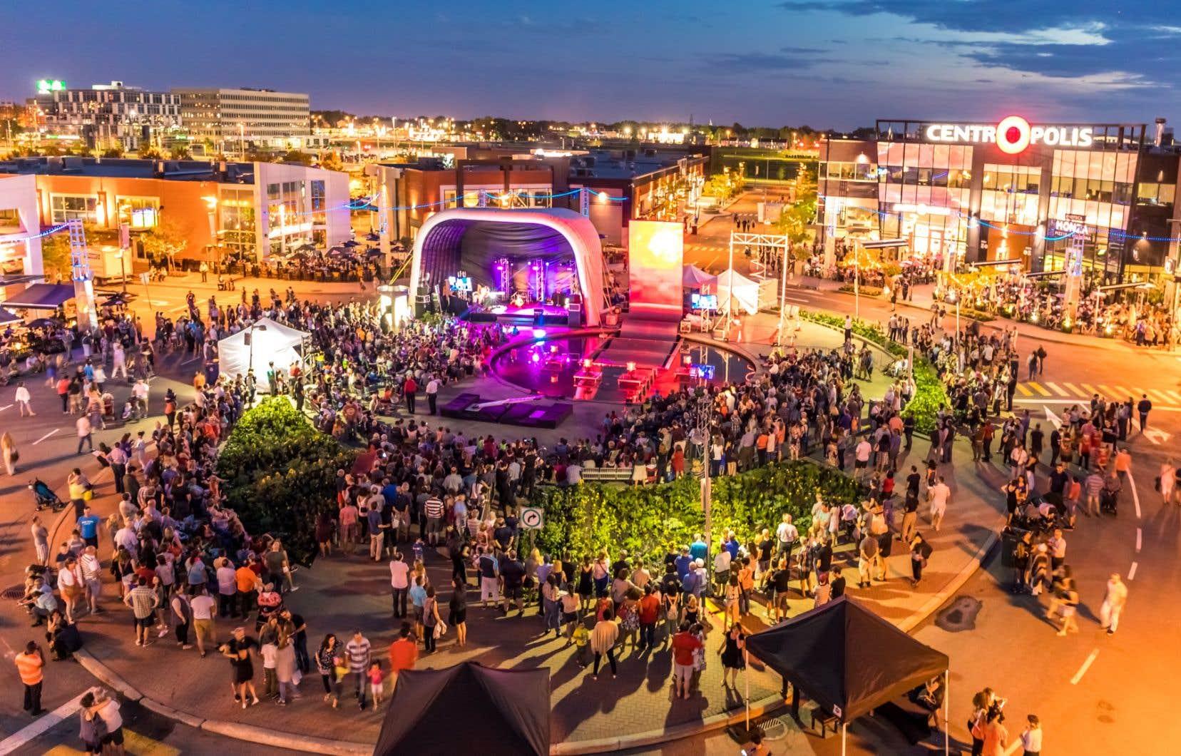 Photo prise à l'événement du Solstice d'été au Centropolis