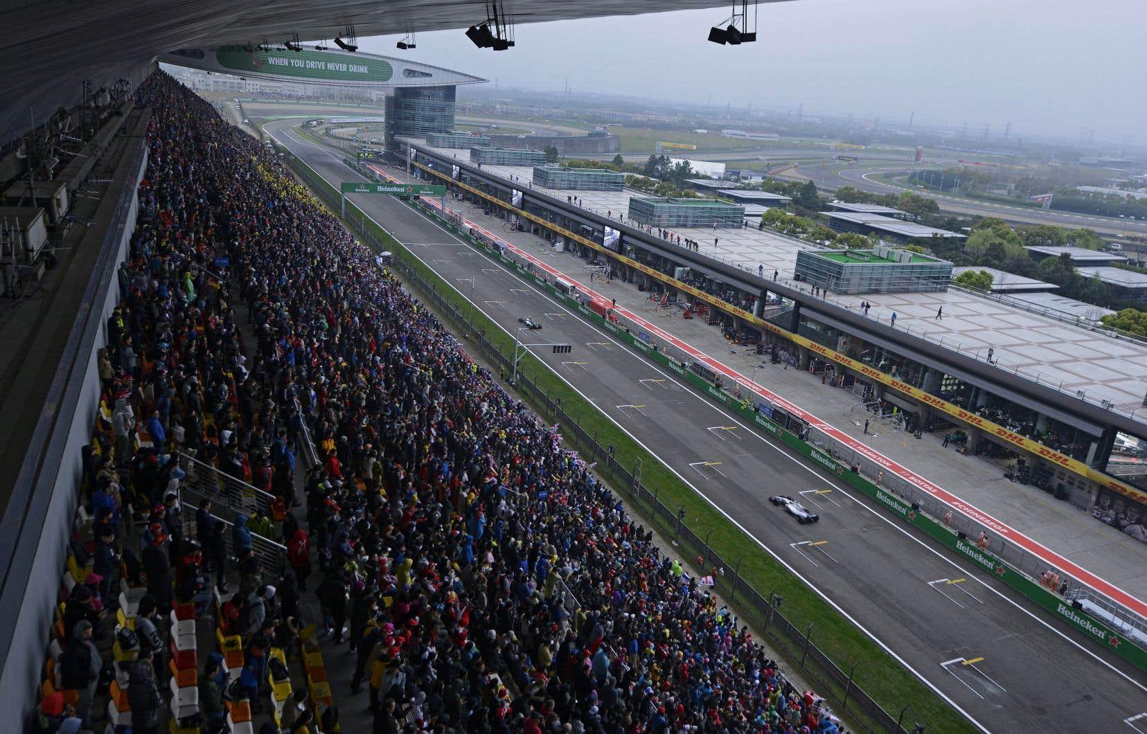Le GP de Chine devait être la 4eépreuve du championnat du monde de F1 qui débutera le 15mars.