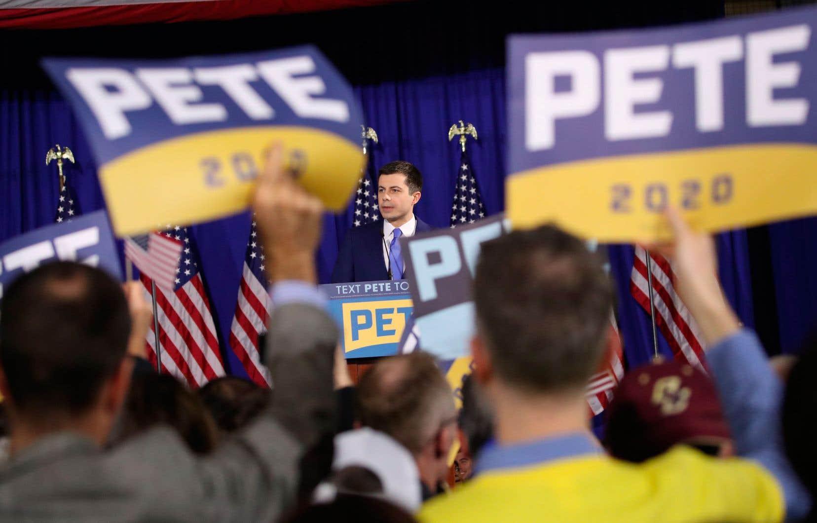 L'un des meneurs de la course à l'investiture démocrate, Pete Buttigieg, a réussi jusqu'à maintenant à répliquer coup pour coup aux attaques de Donald Trump.
