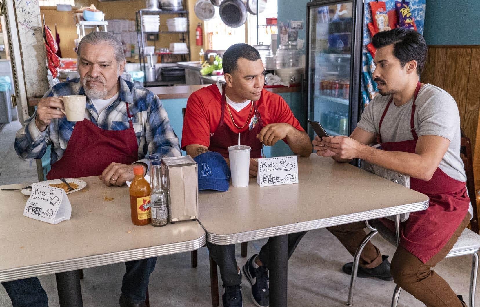 Au centre du récit: un grand-père, fier Mexicain et veuf au grand cœur, qui tient sa «taquería». Devant la hausse de loyer faramineuse à laquelle il est soudain confronté, devra-t-il fermer son restaurant familial?