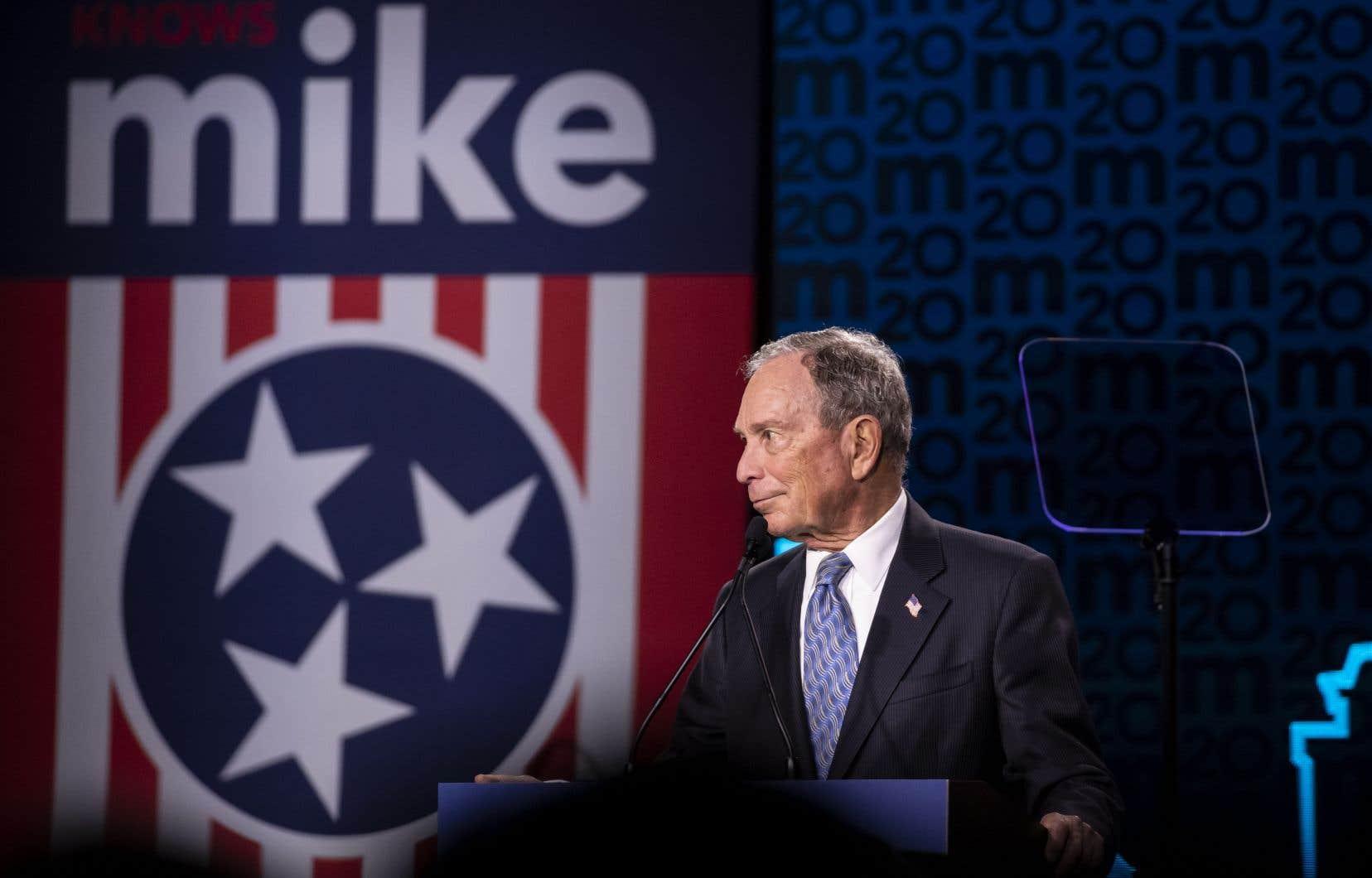 Neuvième homme le plus riche de la planète, Michael Bloomberg a, fort de ses quelque 60milliards de fortune, secoué la campagne démocrate.