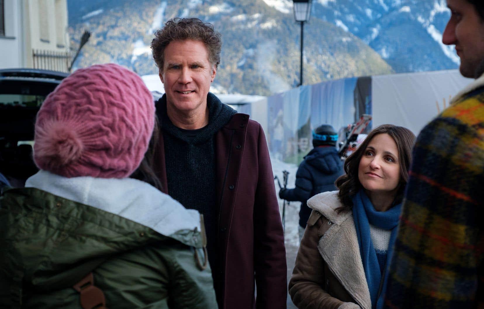 Au début de leur voyage de ski dans les Alpes, un événement inattendu bouleverse la structure familiale de Pete (Will Ferrell) et Billie (Julia Louis-Dreyfus) et fragilise d'une manière insoupçonnée les bases du couple.