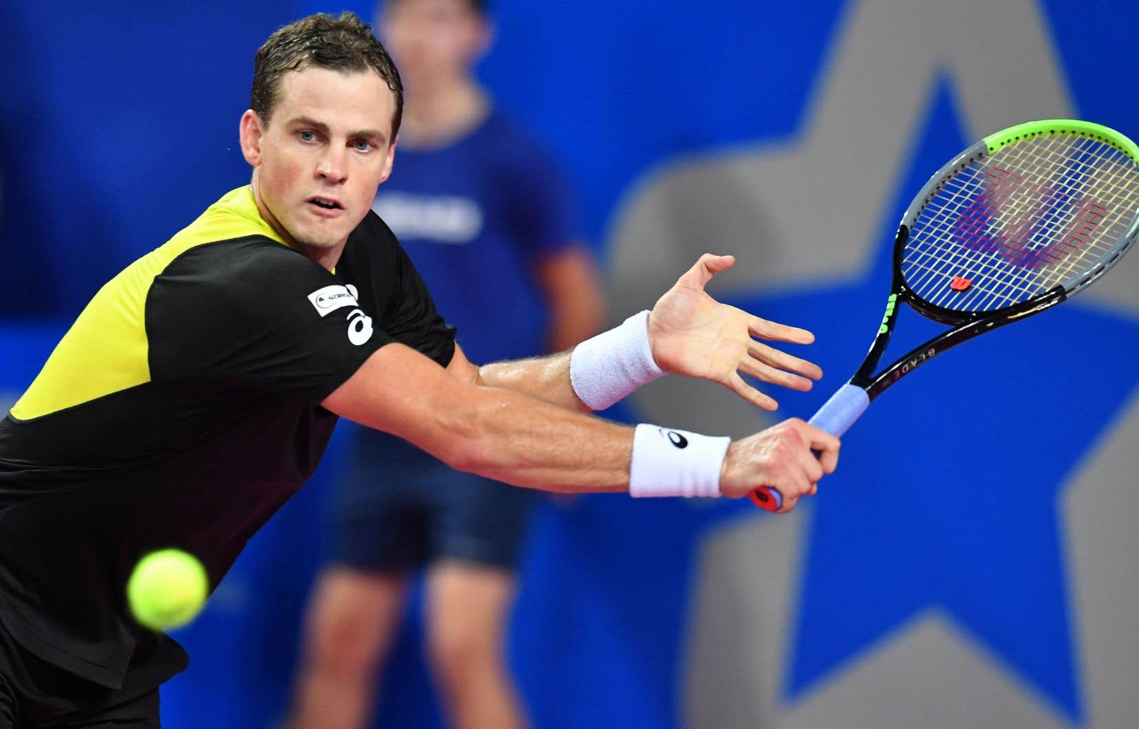 La semaine dernière, à l'Open Sud de France, Vasek Pospisils'est incliné contre Gaël Monfils.