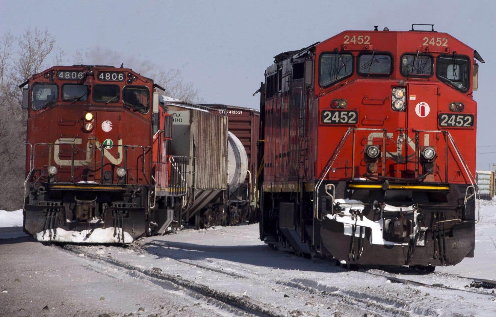 En novembre dernier, plus de 3000 cheminots du Canadien National membres du syndicat des Teamsters ont fait la grève pendant une semaine.