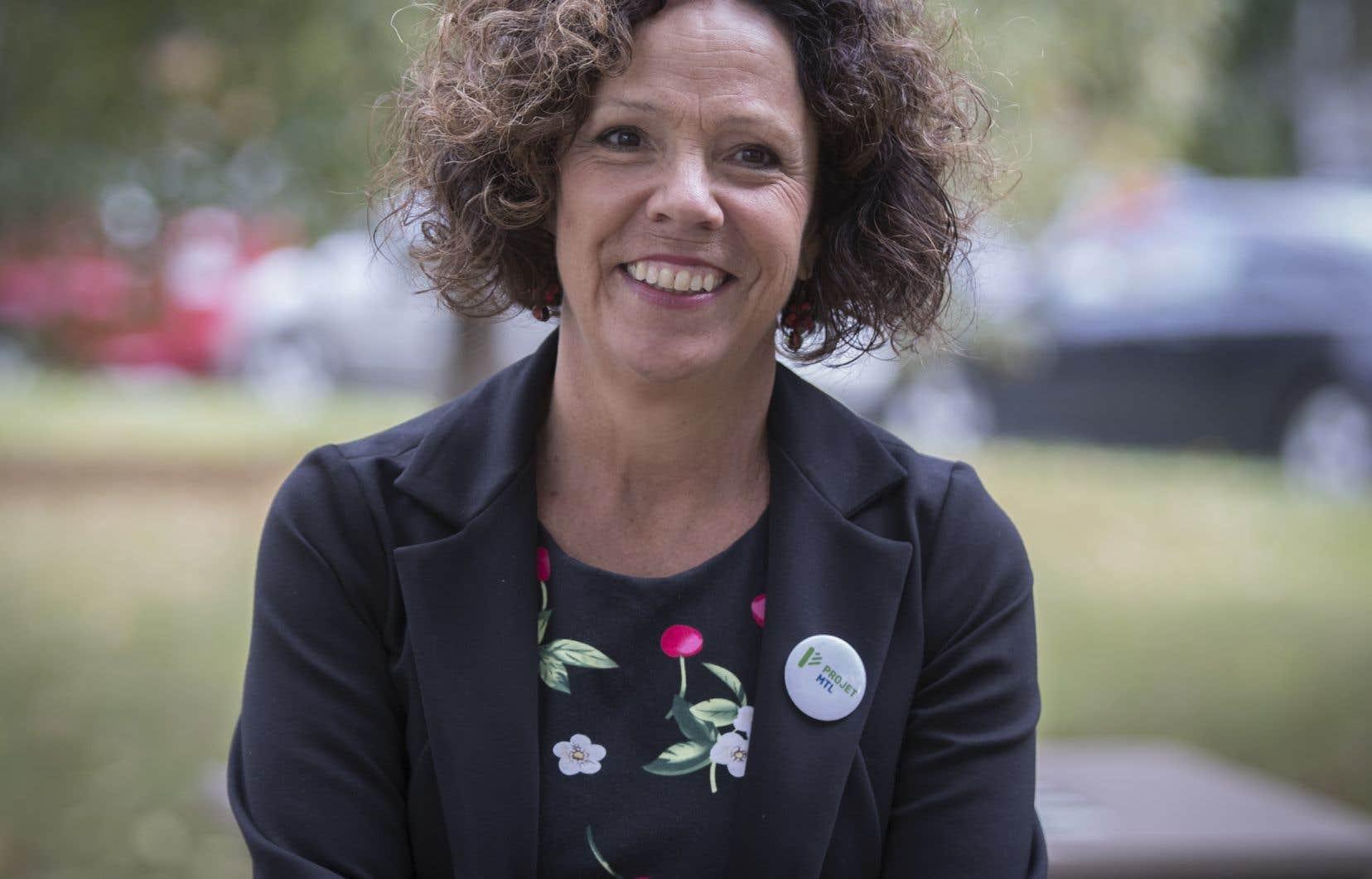 Le 24janvier, Sue Montgomery a été expulsée du caucus de Projet Montréal par la mairesse Valérie Plante.