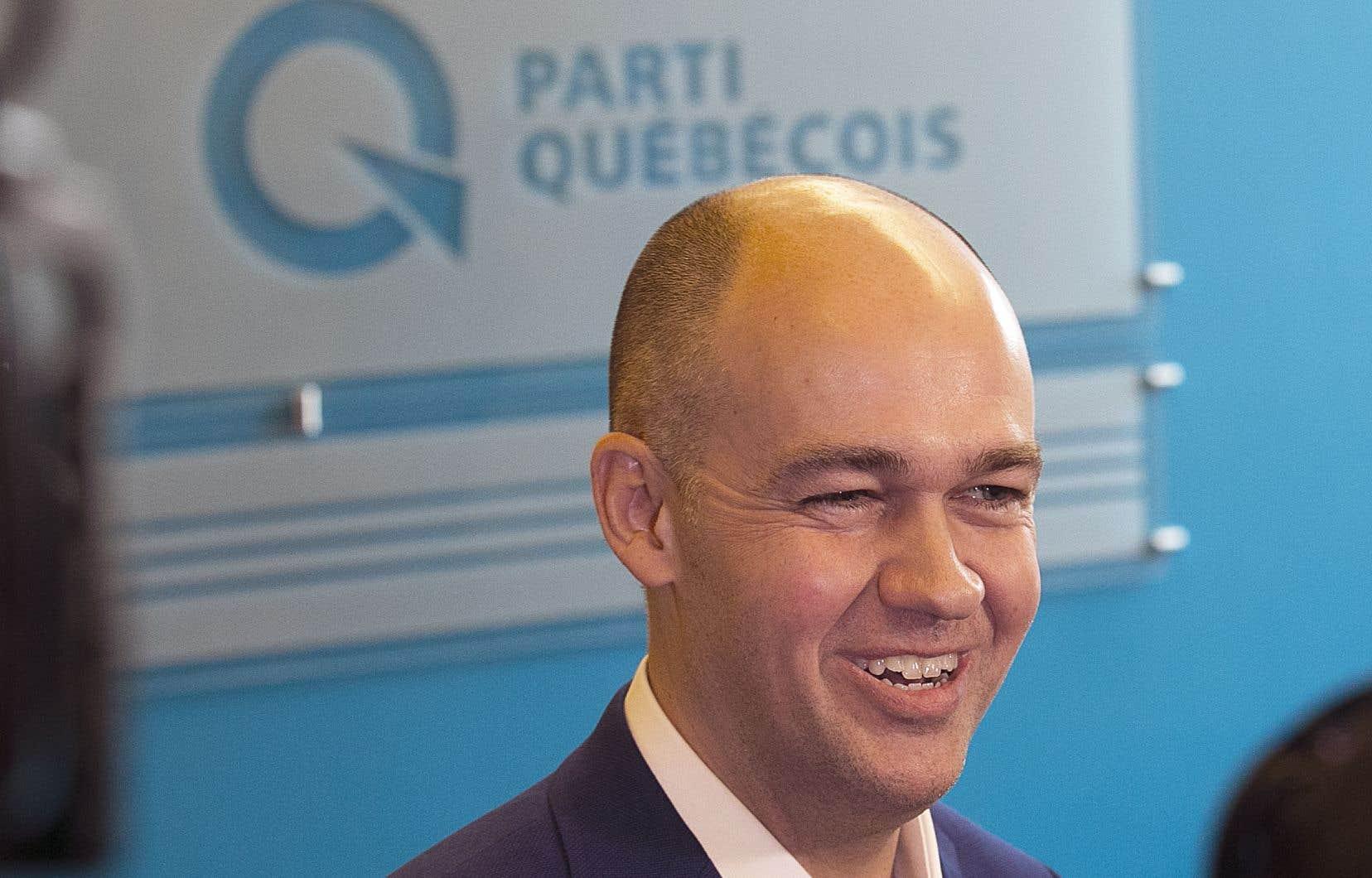 Le candidat annoncé à la direction du Parti québécois Guy Nantel