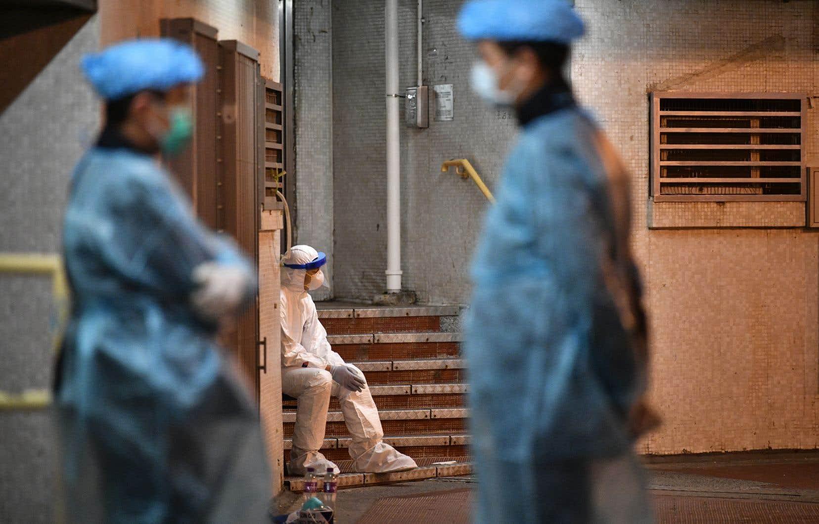 La Chine continentale a pour l'heure recensé 1523 morts dus au coronavirus.