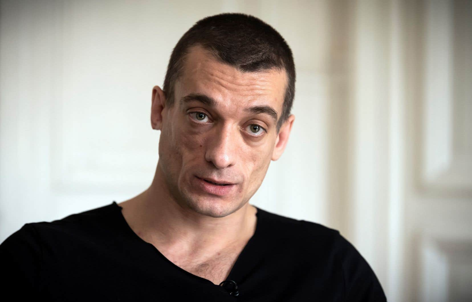 L'artiste russe Piotr Pavlenski et sa compagne, Alexandra de Taddeo, ont été placés en garde à vue pour «atteinte à l'intimité de la vie privée» et «diffusion sans l'accord de la personne d'images à caractère sexuel».
