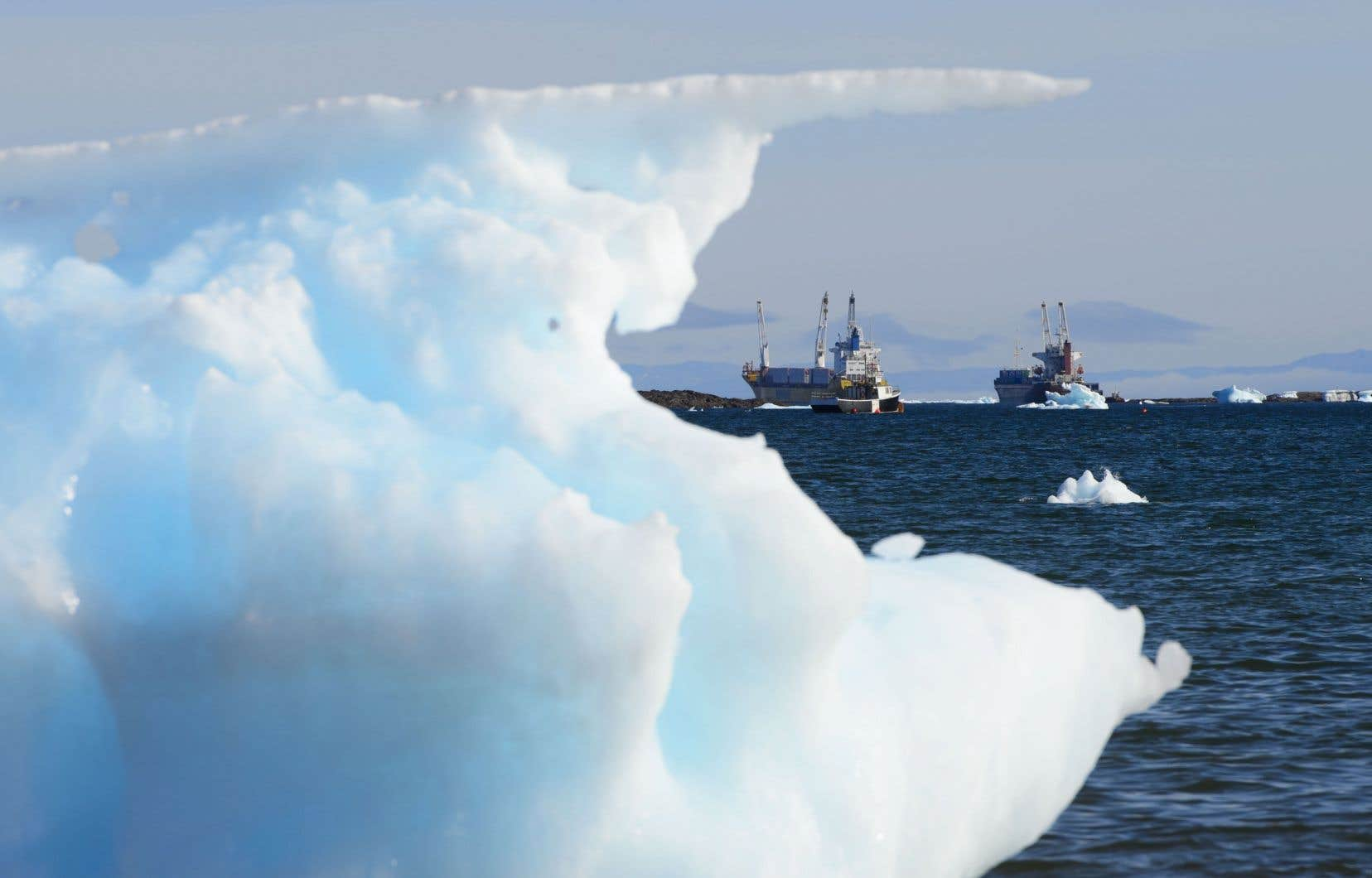 Avec le Canada, sept pays de l'Arctique sur huit soutiennent actuellement l'interdiction du mazout lourd. Seule la Russie s'y oppose.