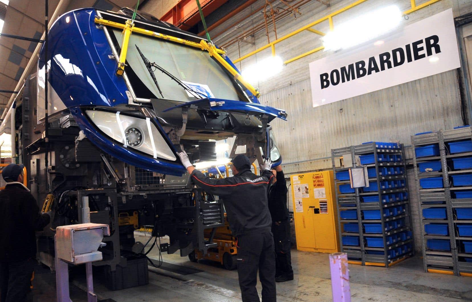 Les 365 emplois à l'usine de Bombardier à La Pocatière devraient être maintenus, et une expansion est même envisagée par Alstom.