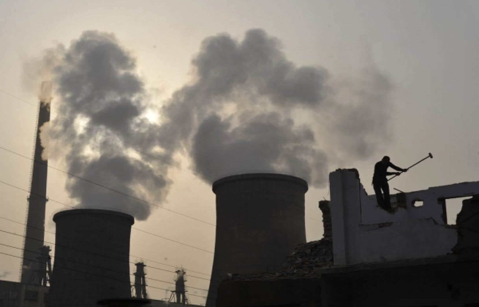 La Chine a reconnu cette semaine être le plus important producteur de GES.<br />