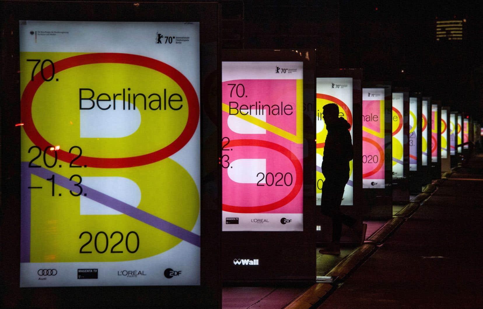 La 70eédition de la Berlinale démarre jeudi pour rouler jusqu'au 1ermars.