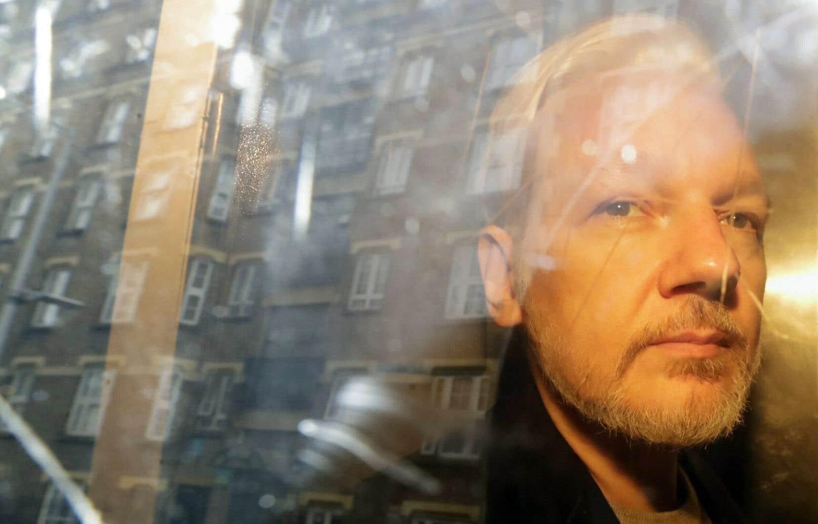 Julian Assange encourt aux États-Unis jusqu'à 175ans d'emprisonnement pour espionnage.