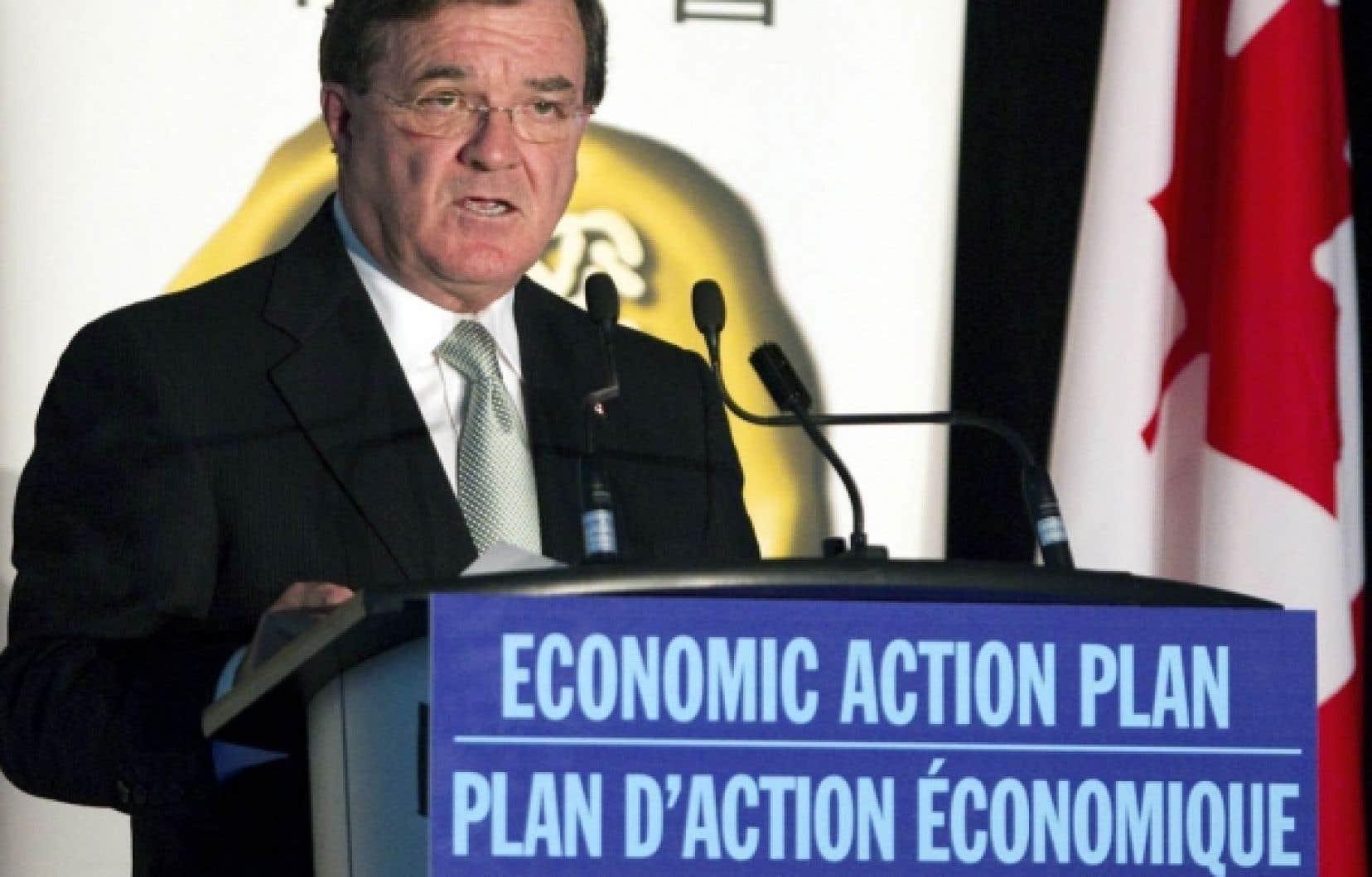 Le ministre des Finances, Jim Flaherty, avait déjà indiqué le 27 septembre que le gouvernement se montrerait «juste et raisonnable» envers les projets qui seront virtuellement terminés le 31 mars.